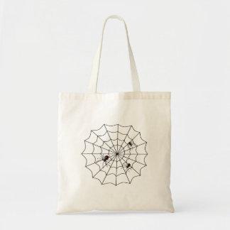 Spindelnät Budget Tygkasse