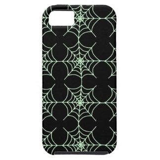 Spindelnätmönster (anpassadewebbenfärg) iPhone 5 Case-Mate cases