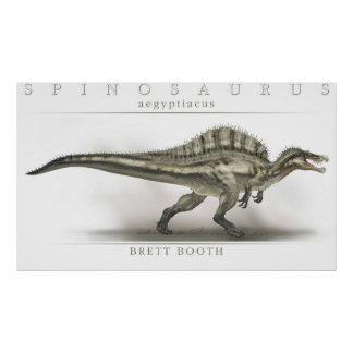 Spinosaurus aegyptiacus poster
