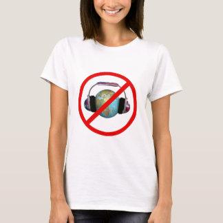 Spionera inte världen tee shirt