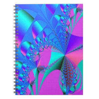 Spiral anteckningsbok för Fractal 54