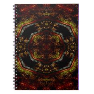 Spiral anteckningsbok för Kaleidoscopedesign CT11