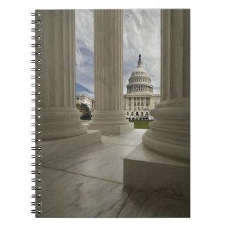 Spiral anteckningsbok för Washington DC