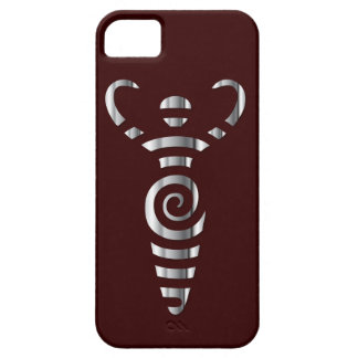 Spiral flodgudinna - krom - 3 iPhone 5 cases