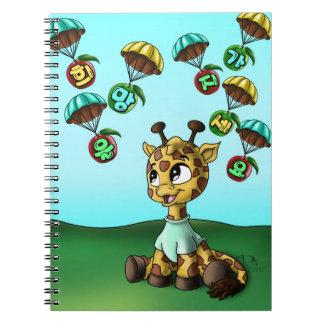 spiral fotoanteckningsbok för 희망을가지세요 (hopp) (80 anteckningsbok med spiral