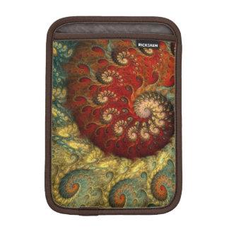 """Spiral Fractal """"för post impressionism"""" Sleeve För iPad Mini"""