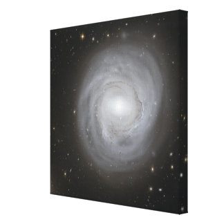 Spiral galax NGC 4921 Sträckta Canvas Tryck