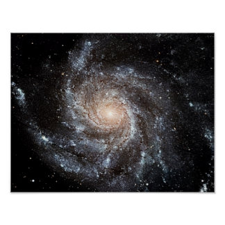 Spiral galax poster