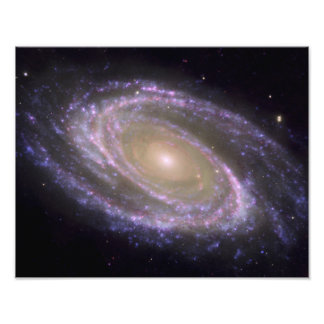 Spiral galax smutsigare 81 fototryck