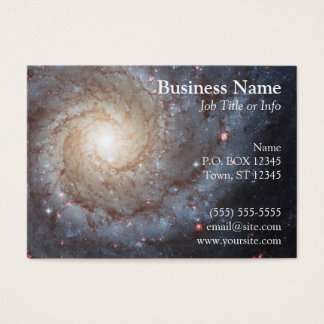 Spiral galaxvisitkort visitkort