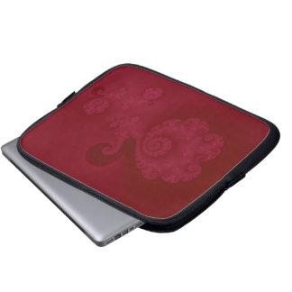 Spiral laptop sleeve för Cerise