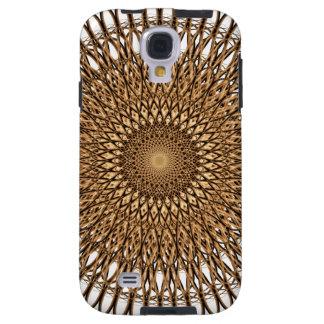 Spiral Mandala för jord Galaxy S4 Fodral