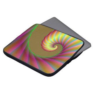 Spiral vinkar laptop sleeve