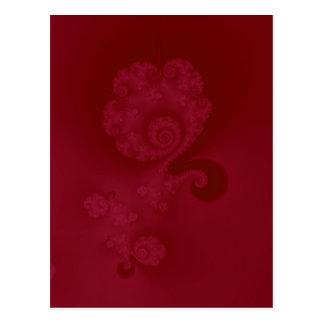 Spiral vykort för Cerise