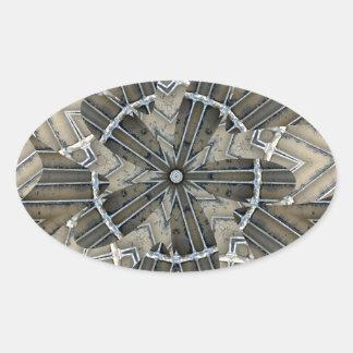 Spisgaller 2015 ovalt klistermärke