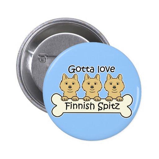 Spitz för finska tre pins