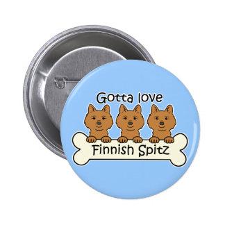 Spitz för finska tre nål