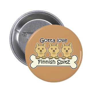 Spitz för finska tre knappar