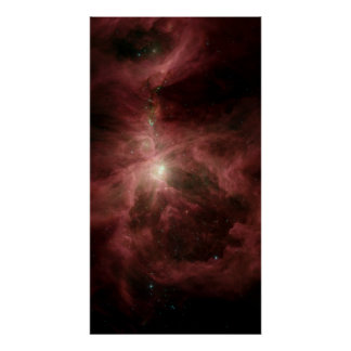 Spitzers Orion Poster