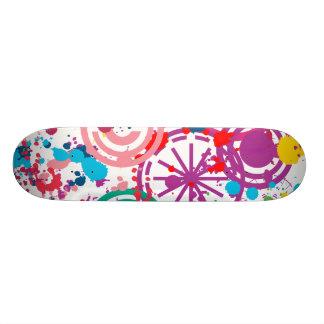 """Splattered ¾ för DisarraySkateboard 7 """", Mini Skateboard Bräda 18,5 Cm"""