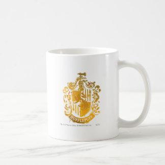 Splattered Hufflepuff vapensköld - Kaffe Mugg