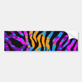 Splatteren för den Corey tiger80-tal målar Bildekal