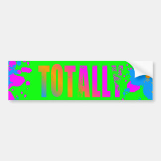 Splatteren för den Corey tiger80-tal målar totalt Bildekal