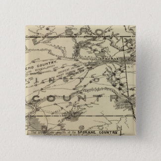 Spokane land standard kanpp fyrkantig 5.1 cm