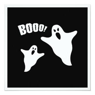 Spöke Fyrkantigt 13,3 Cm Inbjudningskort