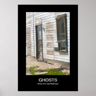 SpökenDemotivational affisch Poster