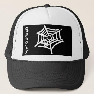 """Spöklik"" spindelnätHalloween hatt Keps"