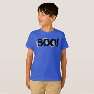 Spöklik spökad bu Halloween för tecknad spöken Tee Shirts
