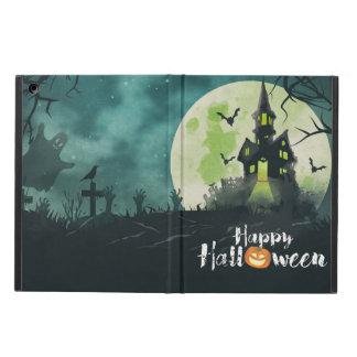 Spöklik spökad himmel för husdräktnatt Halloween iPad Air Skydd