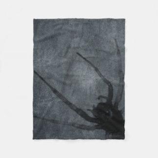 Spöklika spindelHalloween tryck Fleecefilt