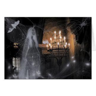 spöklikt hälsningskort
