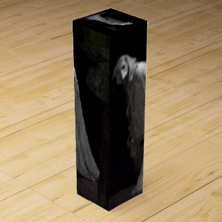Spöklikt spöke- & ghoulvin boxas presentask för vinflaska