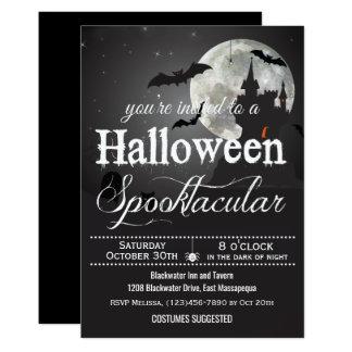 Spooktacular Halloween dräktparty 12,7 X 17,8 Cm Inbjudningskort