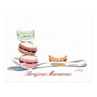 Spoonful av Macarons Vykort