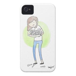 Spoonie mobilt fodral - kronisk sjukdommedvetenhet iPhone 4 Case-Mate fodraler