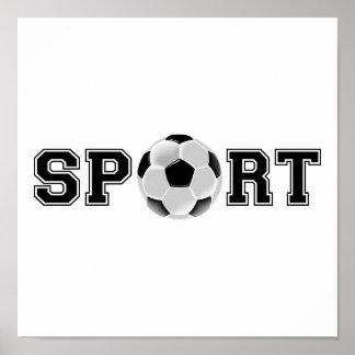 Sport (fotboll) poster
