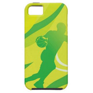 Sportar baseball, aktiv, energi, grön Look iPhone 5 Skal