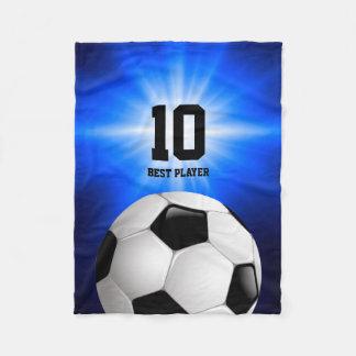 Sportar för spelare | för fotboll kyler bäst gåvor fleecefilt