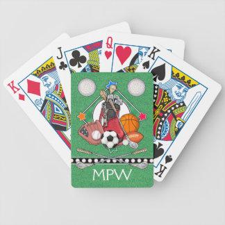 SPORTAR - leka kort - SRF Spelkort