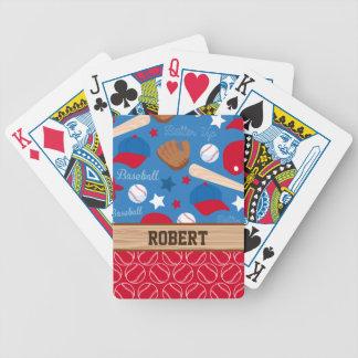 SPORTAR personifierar det roliga mönster för den Spelkort