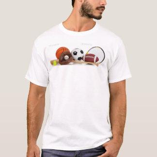 """Sportarna shoppar T-tröja """"för alla sportar"""" Tee Shirt"""