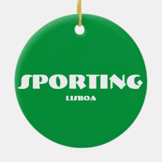 Sporten cirklar prydnaden julgransprydnad keramik