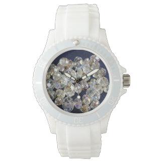 Sportig klocka för diamanter