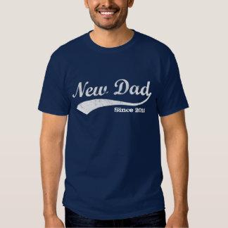 Sportig ny pappaT-tröja, beställnings- år T-shirt
