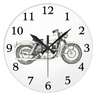 Sportster motorcykel 1957 stor klocka