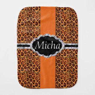 Spots den svart jaguar för orangen bebistrasa